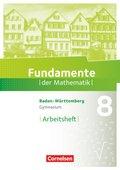 Fundamente der Mathematik, Gymnasium Baden-Württemberg: 8. Schuljahr, Arbeitsheft