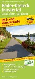 PUBLICPRESS Rad- und Wanderkarte Bäder-Dreieck - Innviertel