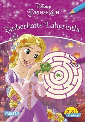 Disney Prinzessin - Zauberhafte Labyrinthe