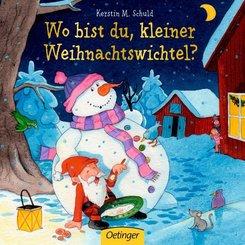 Wo bist du, kleiner Weihnachtswichtel?