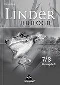 Linder Biologie, Ausgabe Brandenburg: 7./8. Schuljahr, Arbeitsheft Lösungen