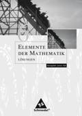 Elemente der Mathematik, Ausgabe Nordrhein-Westfalen (G8): Lösungen 6: passend zum Kernlehrplan G8 2007