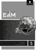 Elemente der Mathematik (EdM) SI, Ausgabe Nordrhein-Westfalen (2012): 5. Schuljahr, Schülerband Lösungen