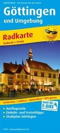 PublicPress Radkarte Göttingen und Umgebung