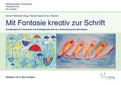 Mit Fantasie kreativ zur Schrift - Malblock