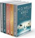 H.G.Wells, Krieg der Welten - Die Zeitmaschine - Die Insel des Dr. Moreau - Der unsichtbare Mann - Die ersten Menschen i