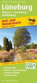 PublicPress Rad- und Wanderkarte Lüneburg und Umgebung