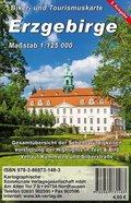 KKV Biker- und Tourismuskarte Erzgebirge