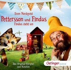 Pettersson und Findus - Findus zieht um, 1 Audio-CD