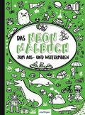 Das Neon-Malbuch (Grün)