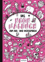 Das Neon-Malbuch (Pink)