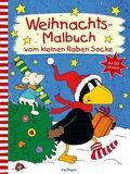 Weihnachts-Malbuch vom kleinen Raben Socke
