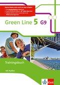 Green Line G9, Ausgabe ab 2015: 9. Klasse, Trainingsbuch, m. Audio-CD; .5