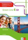 Green Line G9, Ausgabe ab 2015: 10. Klasse, Workbook mit Audio-CD; .6