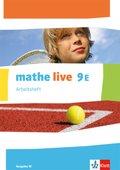 mathe live, Ausgabe W: 9. Schuljahr, Arbeitsheft (E-Kurs)