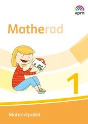 Matherad. Ausgabe ab 2018: 1. Klasse, Materialpaket mit CD-ROM