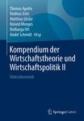 Kompendium der Wirtschaftstheorie und Wirtschaftspolitik II