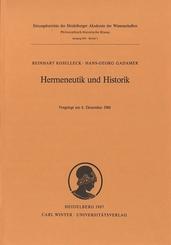 Hermeneutik und Historik