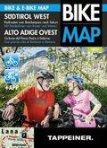 Südtirol West: Radrouten vom Reschenpass nach Salurn / Alto Adige Ovest Ciclovie dal Passo Resia a Salorno