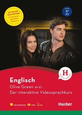 Englisch Olive Green A1-C1, Übungsbuch + Video + App