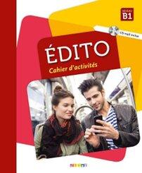 Édito: Cahier d'exercices, m. MP3-CD; .B1
