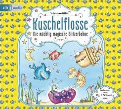 Kuschelflosse - Die mächtig magische Glitzerbohne, 2 Audio-CDs