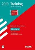 Training Abschlussprüfung 2019 - Realschule Niedersachsen - Deutsch, m. Online-Prüfungstraining