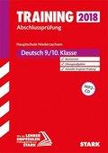 Training Abschlussprüfung 2019 - Hauptschule Niedersachsen - Deutsch 9./10. Klasse