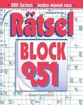 Rätselblock - Bd.251