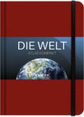 KUNTH Taschenatlas Die Welt - Atlas kompakt, rot