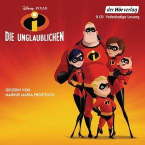 Die Unglaublichen, 2 Audio-CDs