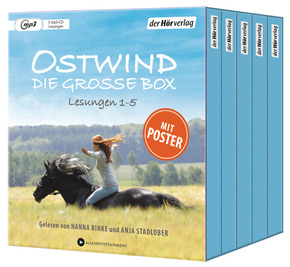 Ostwind. Die große Box, 5 Audio-CD, MP3