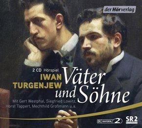 Väter und Söhne, 2 Audio-CDs
