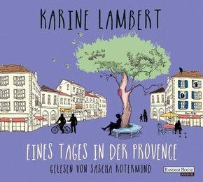 Eines Tages in der Provence, 4 Audio-CDs