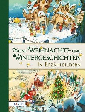 Meine Weihnachts- und Wintergeschichten in Erzählbildern