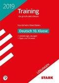 Training Hauptschulabschluss 2019 - Nordrhein-Westfalen - Deutsch 10. Klasse, Lösungen