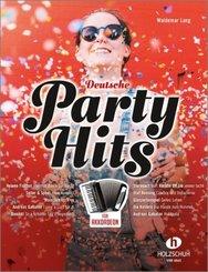 Deutsche Party-Hits, für Akkordeon