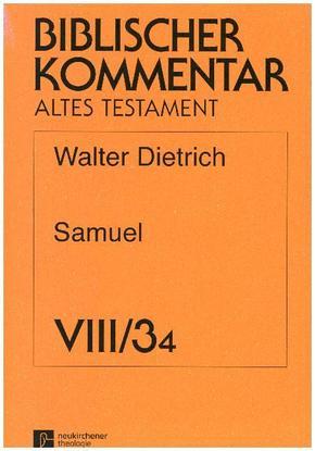 Biblischer Kommentar Altes Testament: Samuel; .Band VIII/3, Lieferung