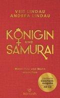 Königin und Samurai, m. Audio-CD