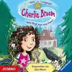 Charlie Broom - Wie fängt man eine Hexe?, 3 Audio-CDs