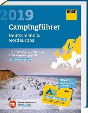 ADAC Campingführer Deutschland & Nordeuropa 2019