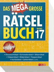 Das megagroße Rätselbuch - Bd. 17