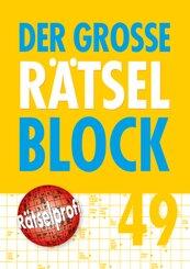 Der große Rätselblock - Bd. 49