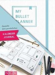 My Bullet Planner - Set mit Notizbuch, Stickern, Schablone und Anleitung