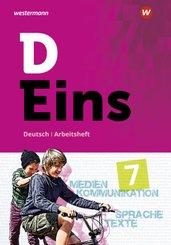 D Eins - Deutsch Gymnasium Nordrhein-Westfalen: 7. Schuljahr, Arbeitsheft