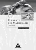Elemente der Mathematik, Ausgabe Baden-Württemberg (2004): Lösungen; Bd.6