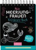 Mein Meerjungfrauen-Kritzkratz-Buch, m. Sift