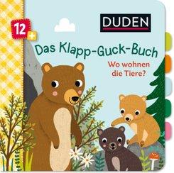 Duden - Das Klapp-Guck-Buch: Wo wohnen die Tiere?