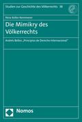Die Mimikry des Völkerrechts