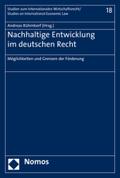Nachhaltige Entwicklung im deutschen Recht